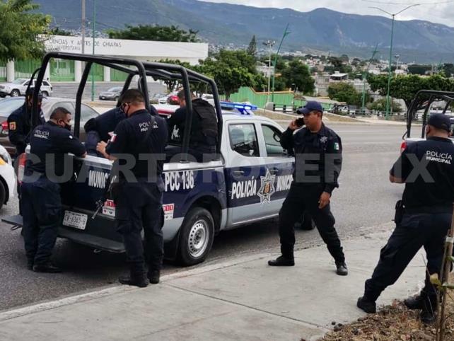 Capturan a asaltante durante persecución