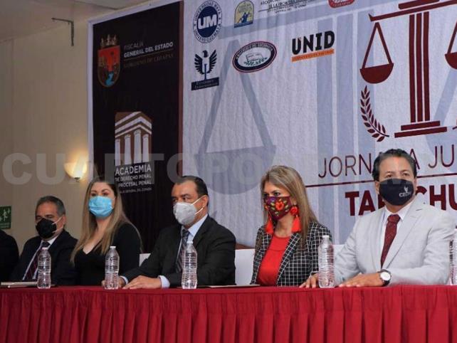 Inaugura FGE Jornada Jurídica en Tapachula