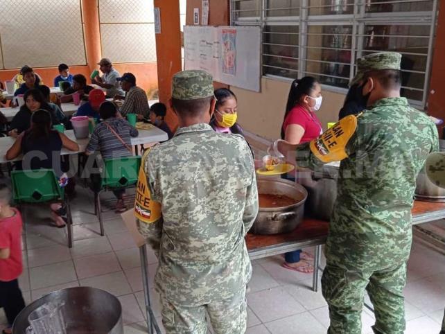 Ejército Mexicano apoya en Plan DN-III-E