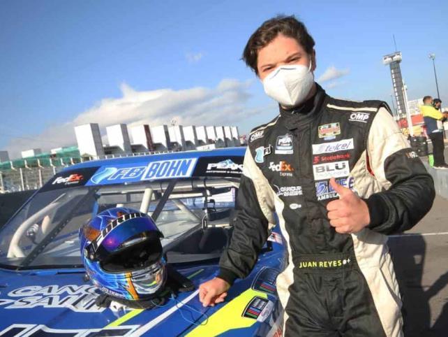 Juan Reyes vuelve a la pista para la final