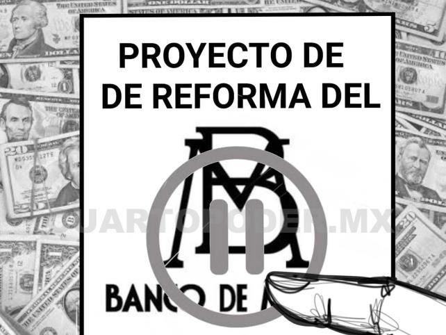 Banco de México libre o legislar al vapor