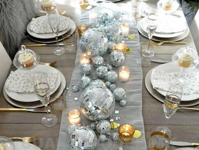 Cómo decorar la mesa en Año Nuevo
