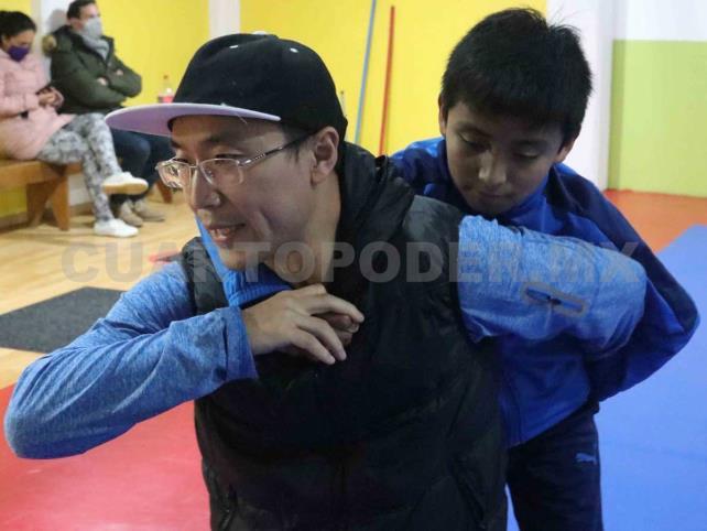 Selección Chiapas de Wushu se fortalece