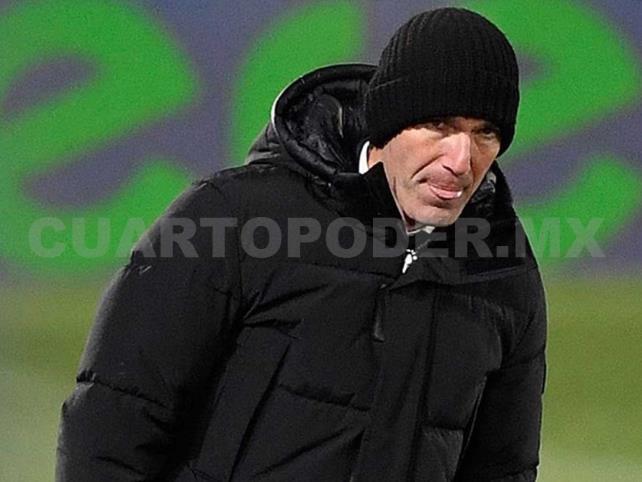 Zidane, aislado por riesgo de contagio