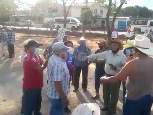 Ejidatarios en conflicto por terrenos en Suchiapa