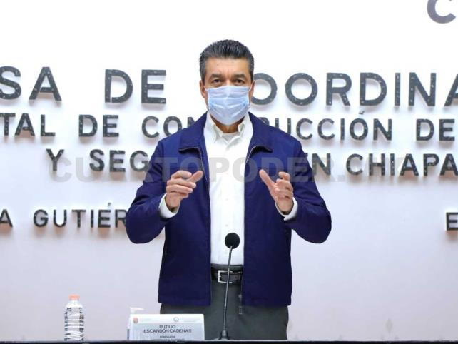 En Chiapas, inicia aplicación de vacuna anti Covid-19