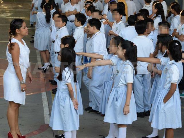 Padres rechazan regreso a clases presenciales