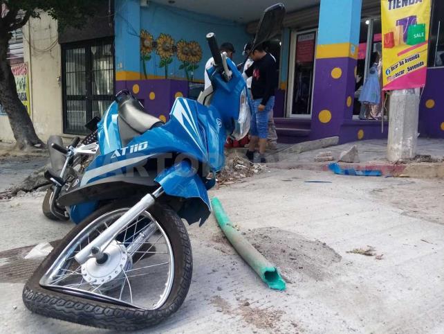 """Motociclista arrollado por un auto """"fantasma"""""""