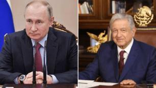 AMLO pacta con Putin vacunas anti Covid