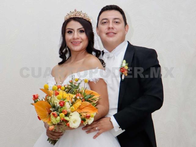 Unieron sus vidas en matrimonio