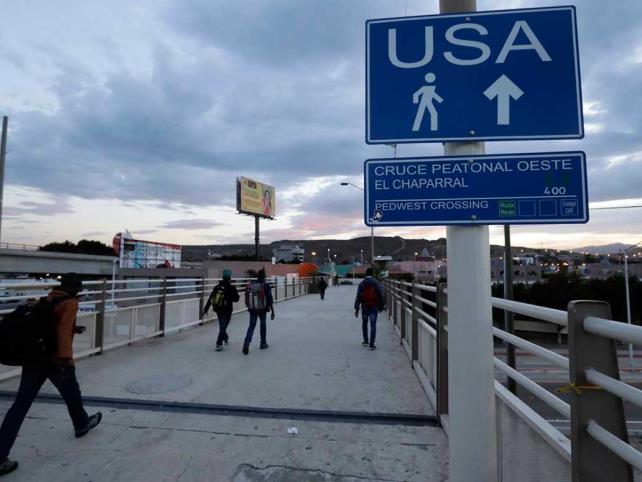 Cierre parcial de frontera con EU alcanzará un año