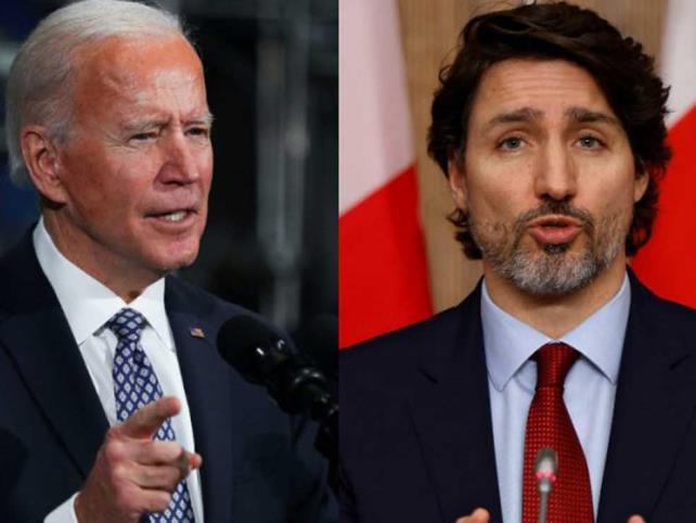 Biden y Trudeau tendrán  su primera reunión virtual