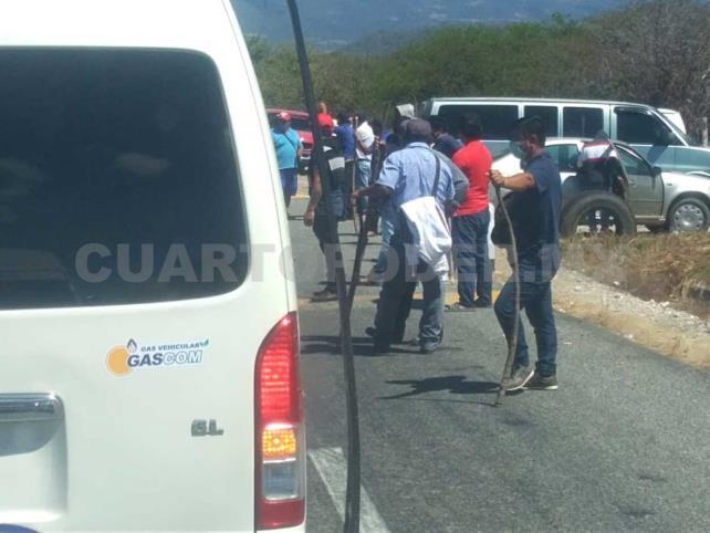 Bloquean Comitán-Frontera Comalapa