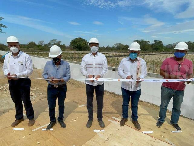 Inauguran planta que tratará aguas residuales