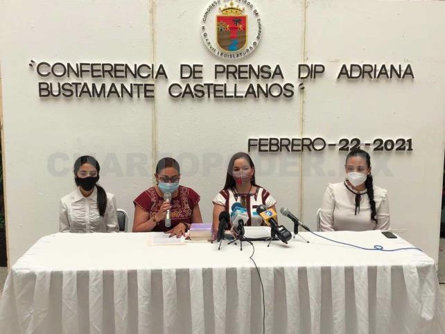 Presentan iniciativa contra violencia política de género