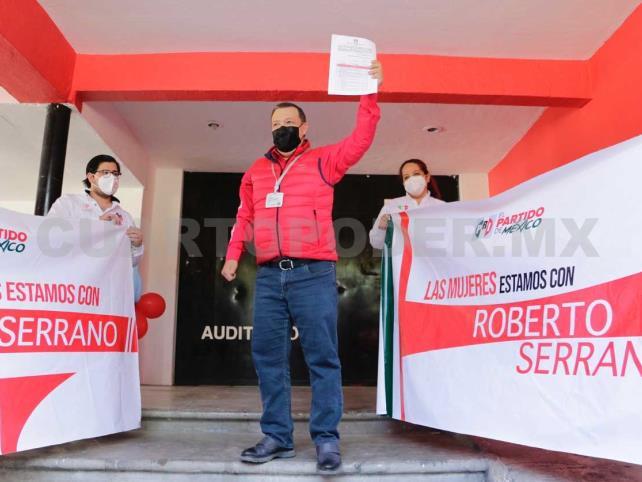Roberto Serrano registra candidatura
