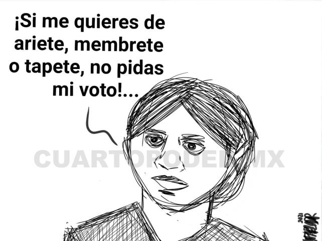 Sin mujeres no es posible la democracia