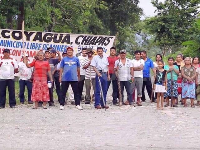 Mujeres piden romper pacto con mineras ante daños
