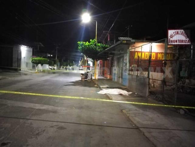 Lo matan en el centro de Ciudad Hidalgo