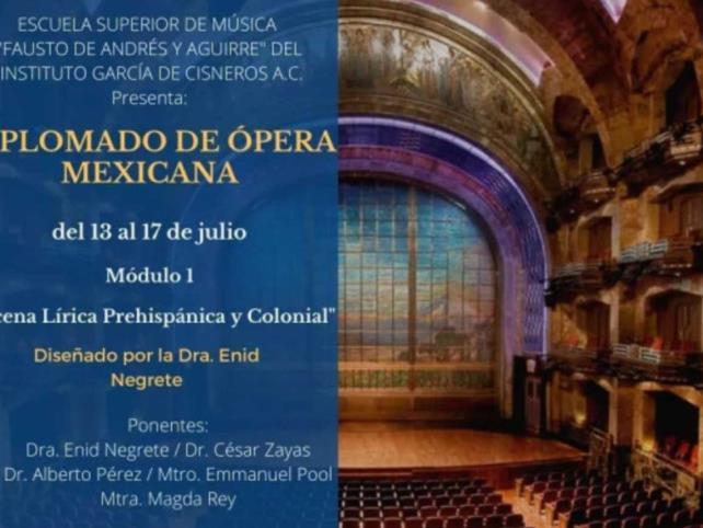 Diplomado revalora a compositores mexicanos