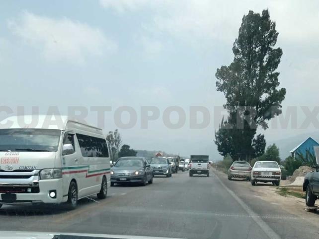 Transportistas de Teopisca bloquearon carretera