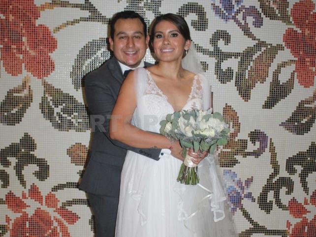 María y Alejandro se casaron