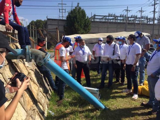 Comité adquiere equipo para detectar fugas de agua