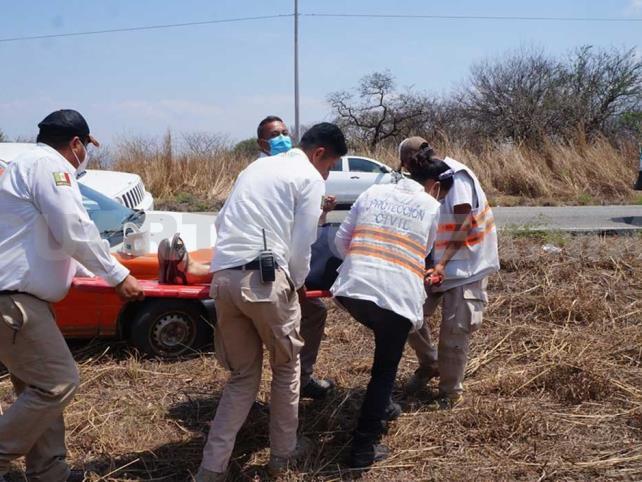 Dos personas heridas en accidente carretero