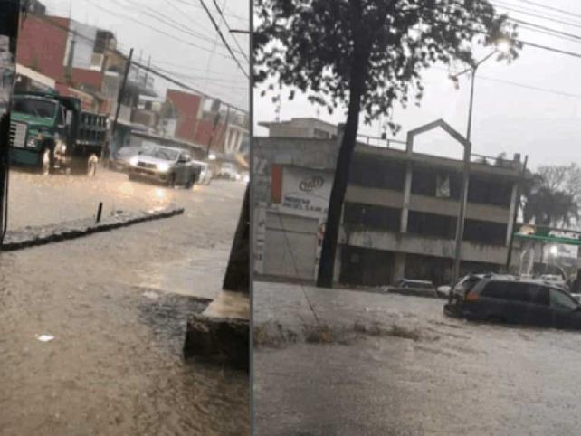 Precipitaciones en Veracruz dejan deslaves