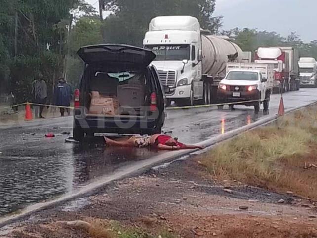 Muere sujeto en accidente sobre la carretera Costera