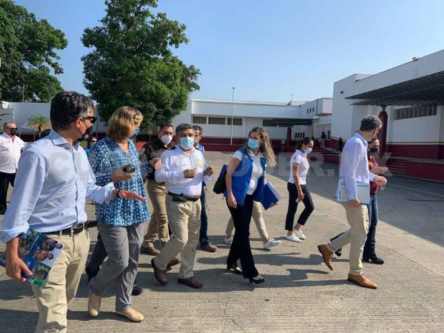 Alta comisionada de Acnur llega a Tapachula
