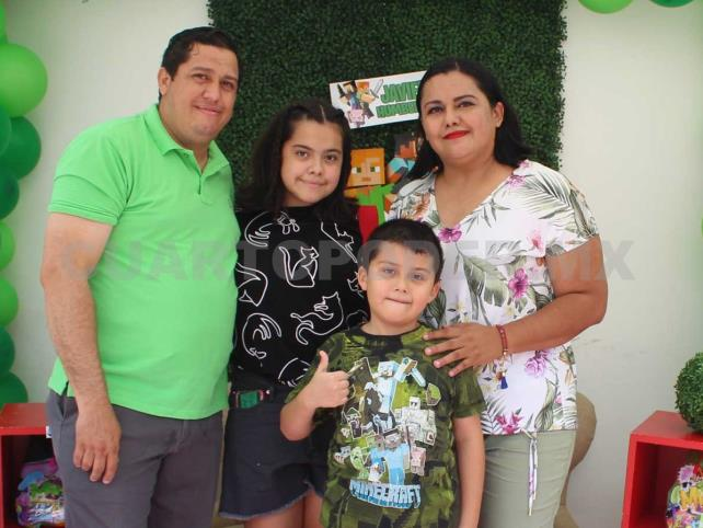 Javier Humberto cumplió 7 años