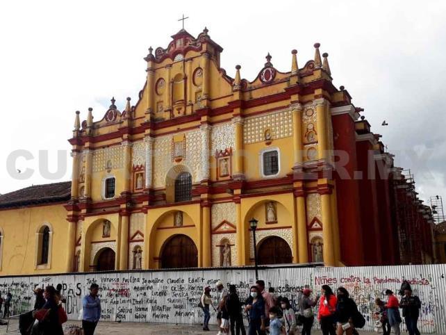Catedral de San Cristóbal avanza en su restauración