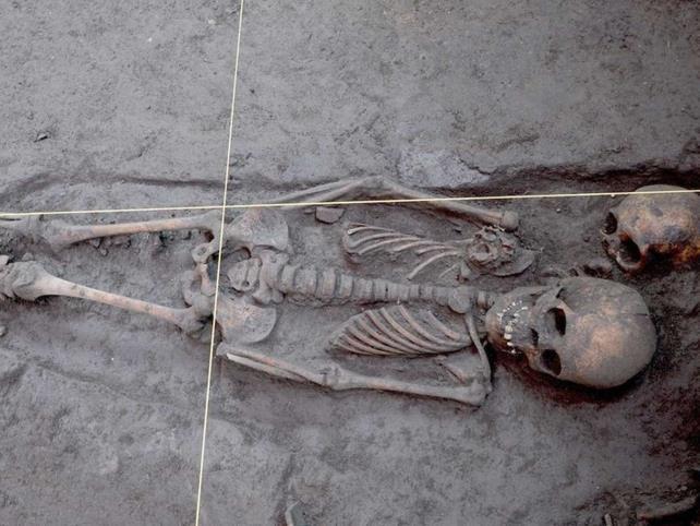 Localizan entierros prehispánicos