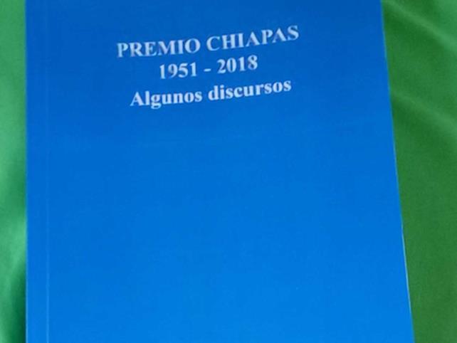 Recopilan discursos de los Premios Chiapas
