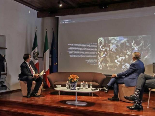 Abre exposición virtual pictórica sobre Italia