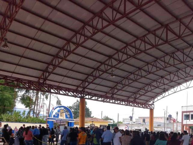 Votación copiosa en Pueblo Nuevo Solistahuacán