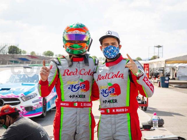 De Alba y Marín lideran el campeonato