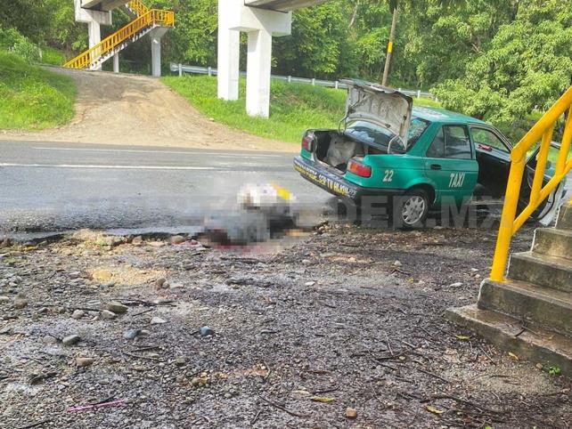 Asesinan a balazos a taxista en la Costera