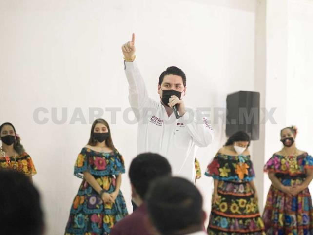 Arrasa Morena en Chiapas: Carlos Molina