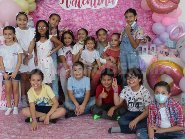 Una fiesta única para Valentina