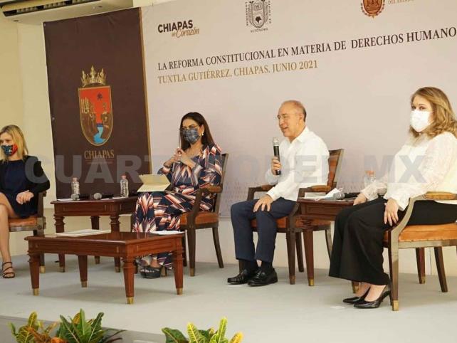 Bienestar de Chiapas, presente en coloquio sobre DH