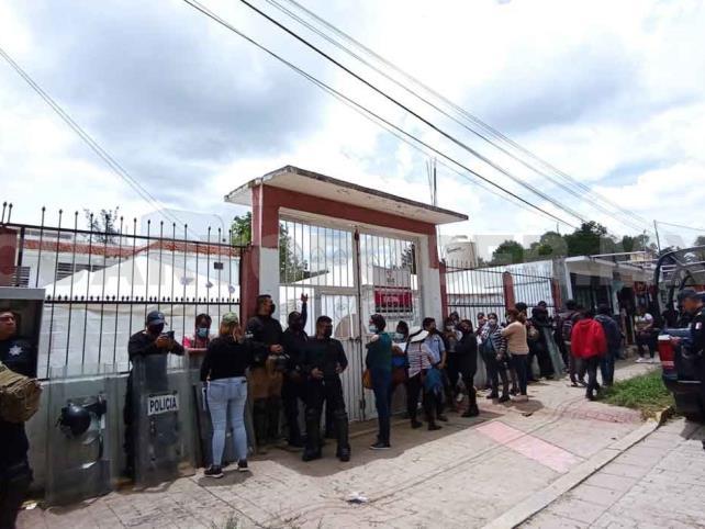 Realizan recuento de votos en el Distrito San Cristóbal