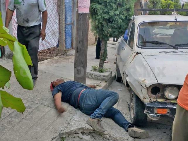 Termina prensado en un  accidente en la Penipak