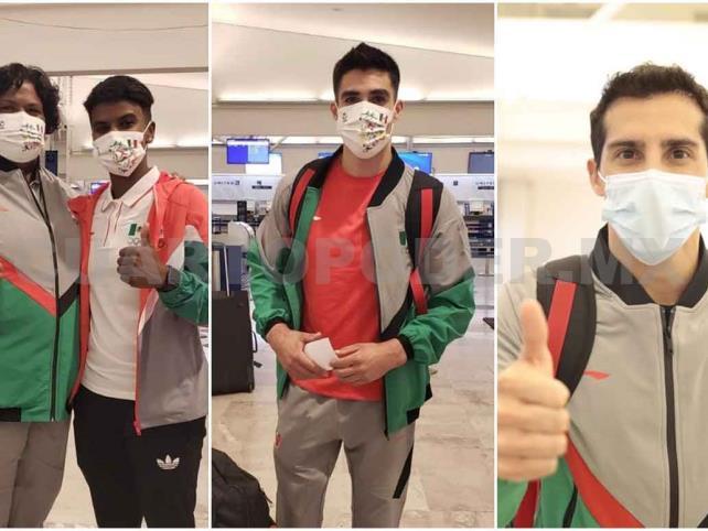 Delegación de gimnasia, clavados y judo ya viajaron