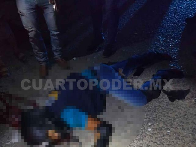 Tres muertos en choque de motocicletas