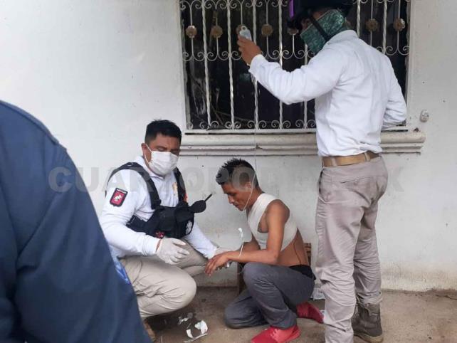 Hombre recibió tres estocadas con arma blanca en riña