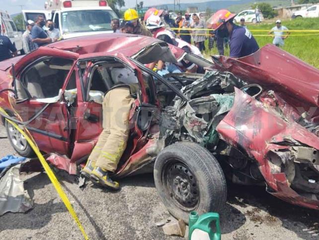 Una muerta y otra herida en accidente carretero