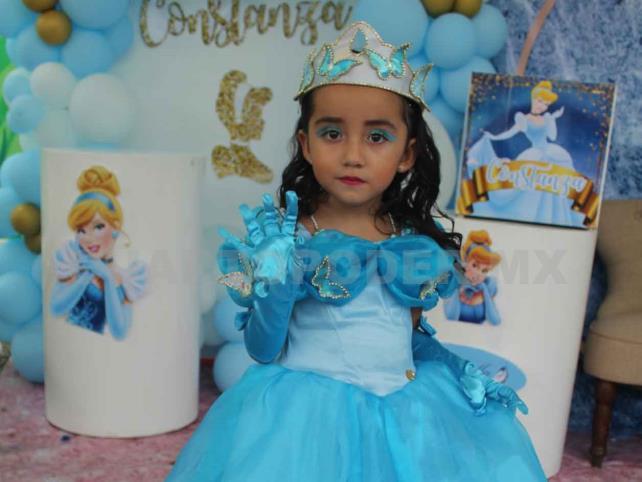 Constanza lució como una princesa