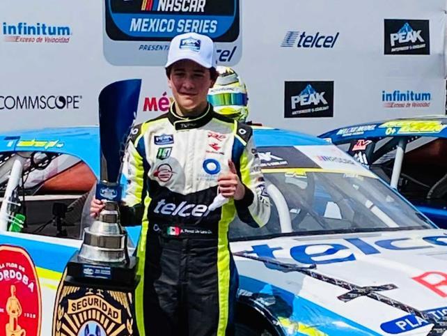 Pérez de Lara dio podio al HO Speed Racing